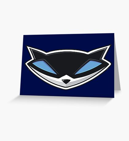 Sly Cooper Logo Greeting Card