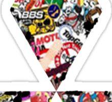 Mitsubishi  Sticker