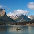 St. Mary Lake and Wild Goose Island. 2 by Alex Preiss