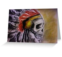 American Indian Chief Greeting Card