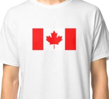 Official Canadian Flag Classic T-Shirt