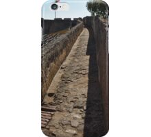 Walking on the Castle Wall iPhone Case/Skin