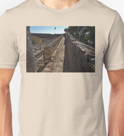 Walking on the Castle Wall Unisex T-Shirt