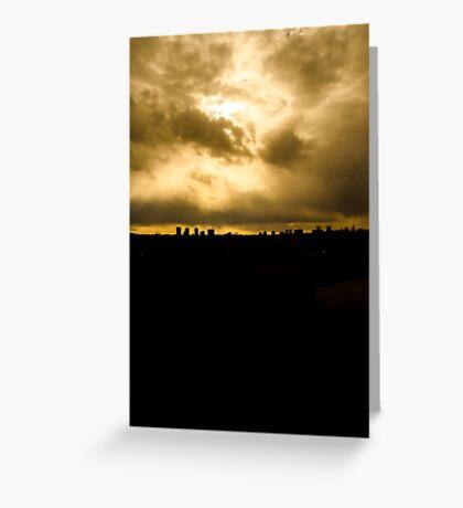 edmonton skyline Greeting Card