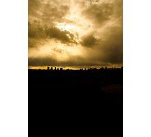 edmonton skyline Photographic Print