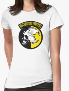 MGS - Militaires Sans Frontieres Logo Womens Fitted T-Shirt
