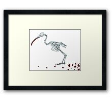my deadly lover Framed Print