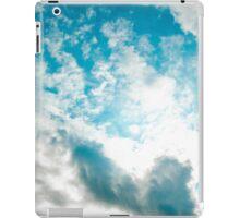 alberta blue skies iPad Case/Skin