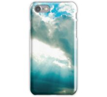 blue skies alberta iPhone Case/Skin
