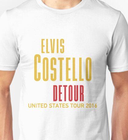 HITS ELVIS COSTELLO DETOUR LIVE 2016 ESTR01 Unisex T-Shirt