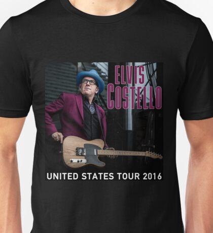 HITS ELVIS COSTELLO DETOUR LIVE 2016 ESTR03 Unisex T-Shirt