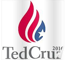 Ted Cruz Logo - Large Size Poster