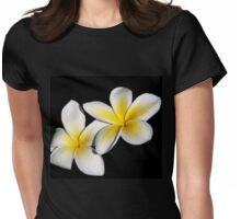 Plumeria a.k.a. Frangipani Womens Fitted T-Shirt