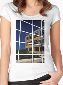 Tax Office  Women's Fitted Scoop T-Shirt