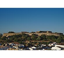 Castle of Castro Marim from the hill Photographic Print