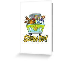 scooby doo Greeting Card
