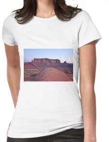 Monument Valley Arizona...USA Womens Fitted T-Shirt