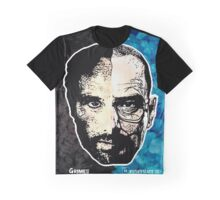 Breaking Dead - Walking Bad 3D T-Shirt (Grimes and Heisenberg) Graphic T-Shirt
