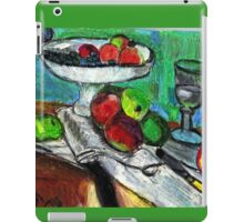 Still Life(After Matisse) iPad Case/Skin