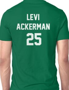 Attack On Titan Jerseys (Levi Ackerman) Unisex T-Shirt