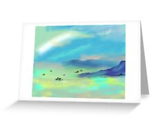 Foggy Morning on the San Francisco Bay Greeting Card