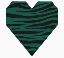 0058 Bottle Green or Bangladesh Green Tiger One Piece - Long Sleeve