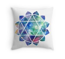 Chakra Anahata Throw Pillow