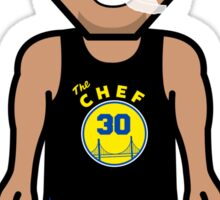 """Steph """"The Chef"""" Curry by AiReal Apparel Sticker"""