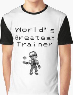 World's Greatest Trainer Graphic T-Shirt