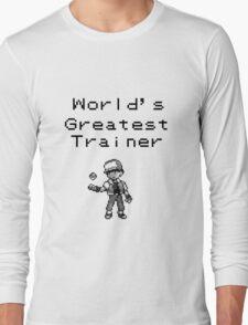 World's Greatest Trainer Long Sleeve T-Shirt