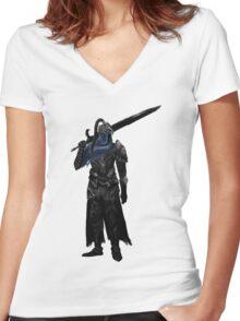 Artorias The Abysswalker  Women's Fitted V-Neck T-Shirt