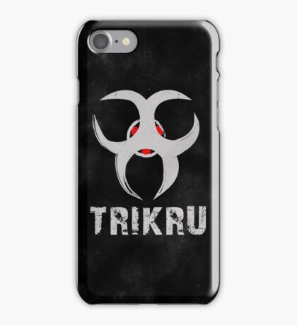 The 100 Trikru Symbol [Black] iPhone Case/Skin