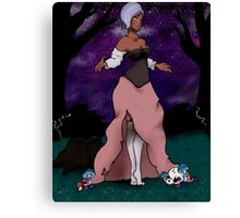 Enchantress of the Wood Canvas Print