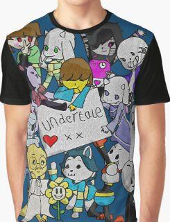 undertale XX Graphic T-Shirt
