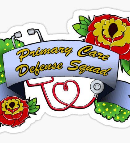 Primary care defense squad Sticker