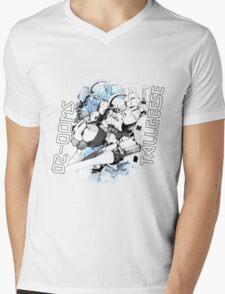 OZ-00MS TALLGEESE (White) Mens V-Neck T-Shirt