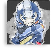 Mega Man 5 Wall Art: Mega Man Canvas Print
