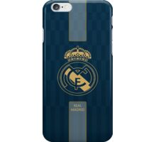 real madrid blue yellow iPhone Case/Skin