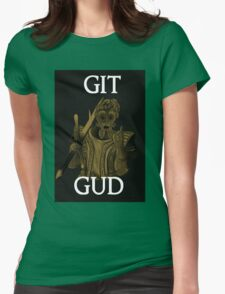 Git Gud. Womens Fitted T-Shirt