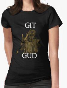 Git Gud. Womens Fitted T-Shirt