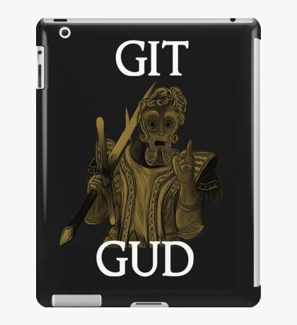 Git Gud. iPad Case/Skin