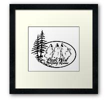 Pack West Wolfdog Rescue Framed Print