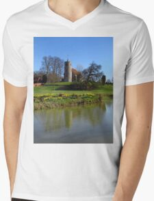 Church By The Lake, Aldham Mens V-Neck T-Shirt