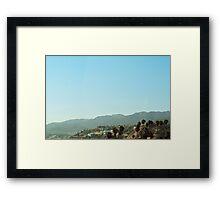 Malibu (California) Framed Print