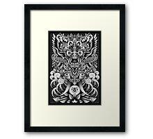 Barong Framed Print