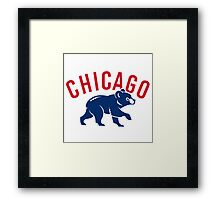 Chicago_Cubs5 Framed Print