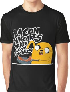 "Jake - Adventure Time ""pancakes"" Graphic T-Shirt"