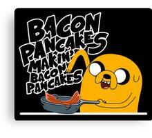 "Jake - Adventure Time ""pancakes"" Canvas Print"