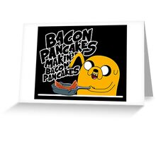 "Jake - Adventure Time ""pancakes"" Greeting Card"