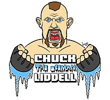 The Iceman Chuck Liddell Photographic Print